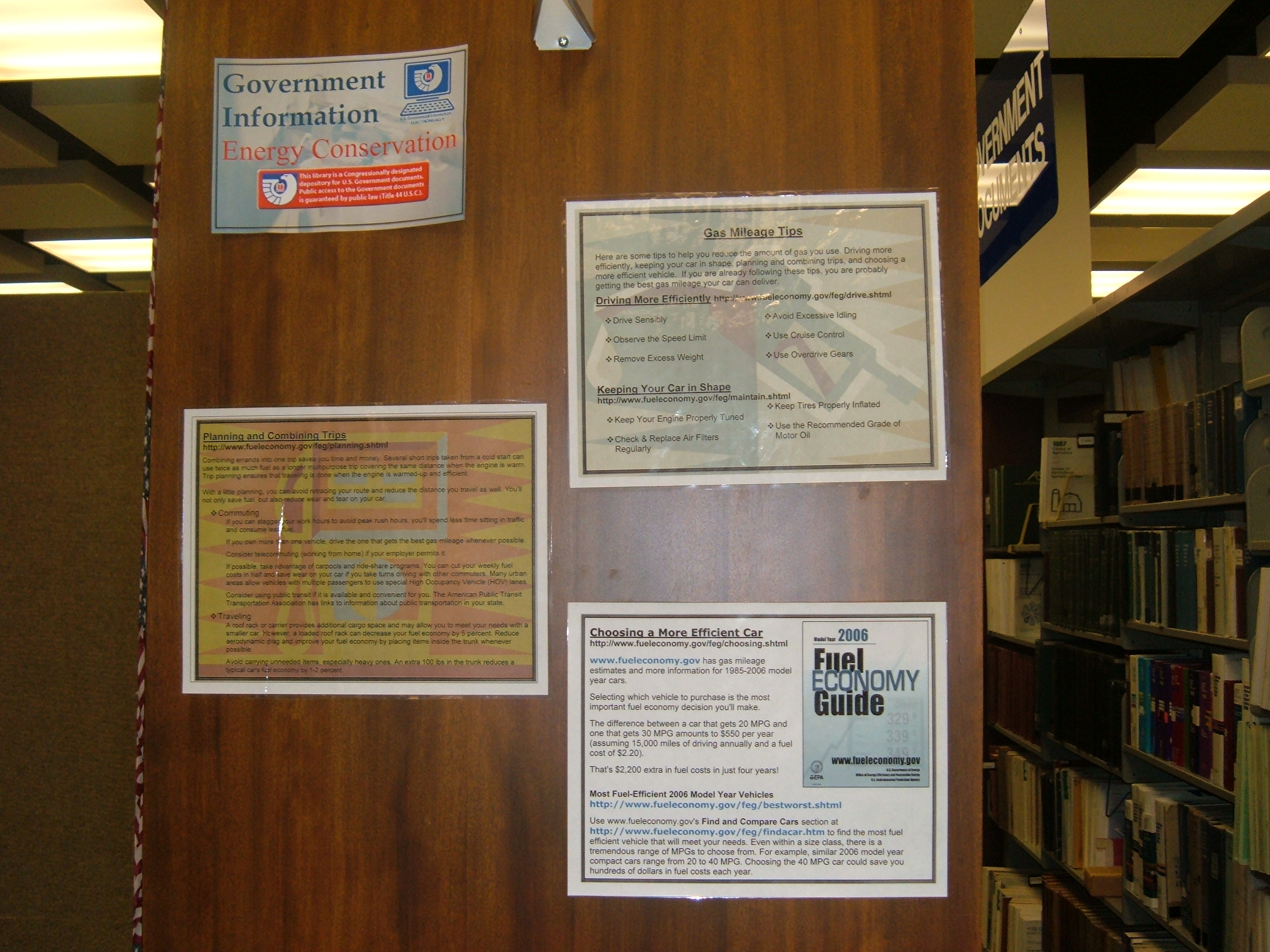 Energy Conservation Display